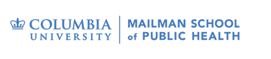 Logo for Columbia University Mailman School of Public Health